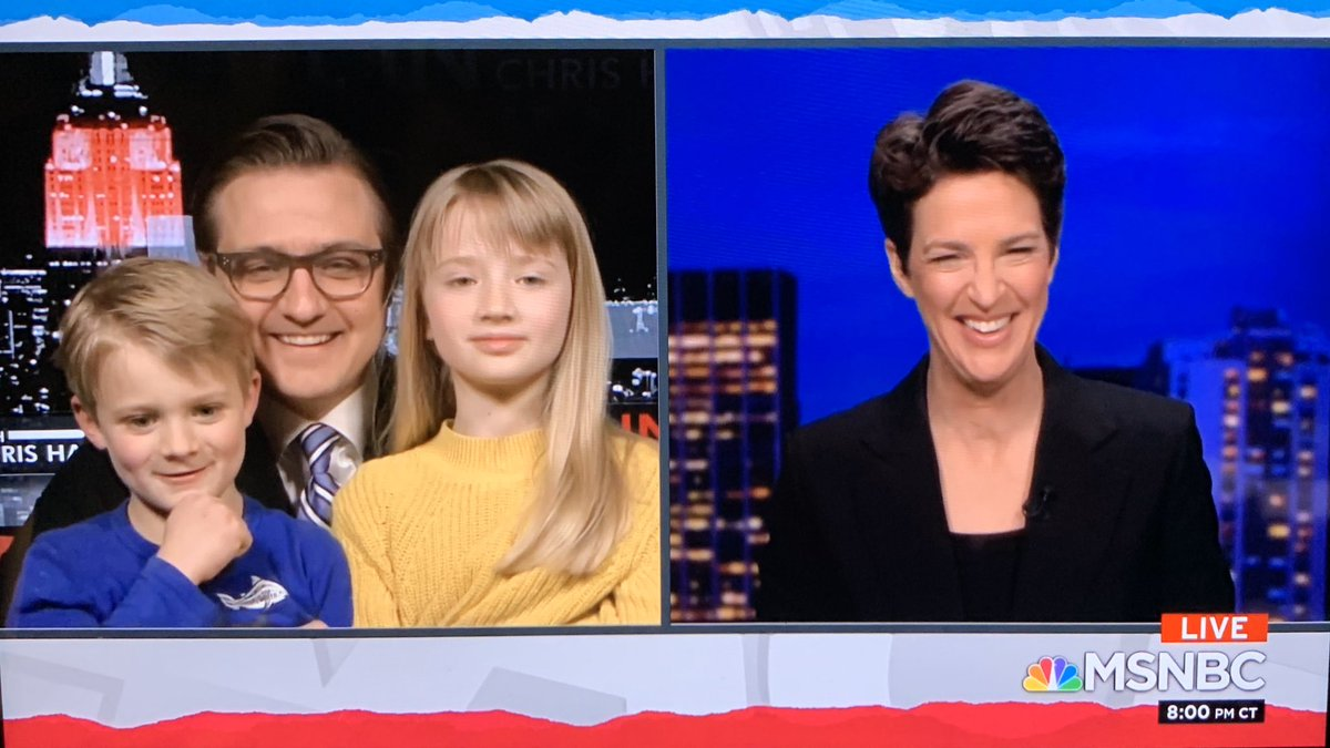 ... this is the best @chrislhayes hand off to @maddow ever. #inners #trms #maddow