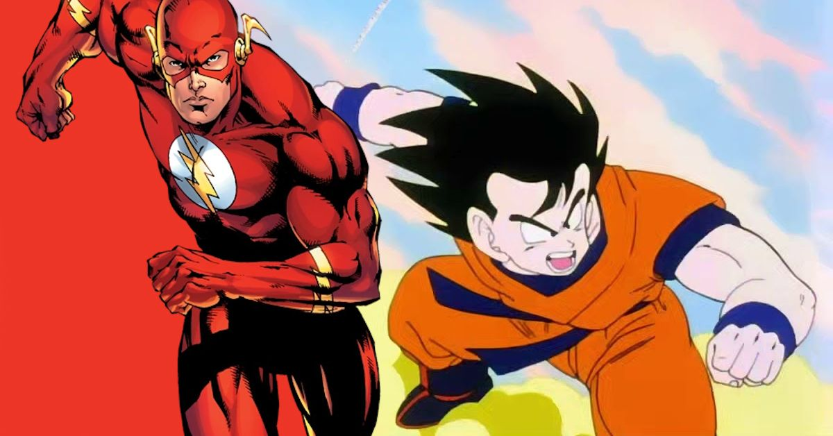 Comic Book Resources On Twitter Dc Vs Dbz Is Goku Faster Than Theflash Not Counting Instant Transmission Https T Co Jlojr88gua