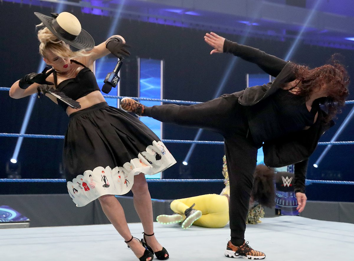 @LaceyEvansWWE's photo on #SmackDown