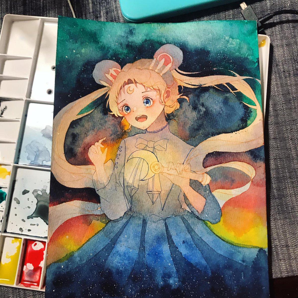 #anime #drawing #art #artist #artwork #artistsoninstagram #animeart #animegirl #fanart #fanartanime #watercolor #animedoodle #mangasketch #mangaartist #animeartwork #animestyle #costumedesigner #animeart #mangaartwork  #characterart #WHYRUep10pic.twitter.com/xRglAdTS4g