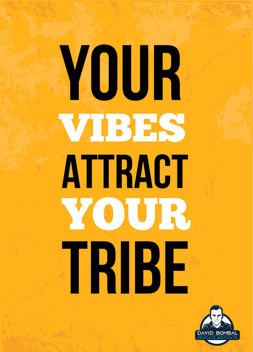 Your vibes attract your tribe.  #motivationquotes #dailymotivation #ccna  #inspirationalquote #cisco pic.twitter.com/ymq6uoM3f9