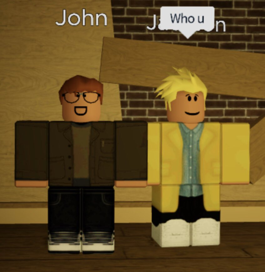 John Roblox Discord Fastkikicat9 Sorry For Being Inactive On Twitter I Made A Picture Of Jackson And John From Roblox Flicker Anyone Who Gets Close To Each Other Is A Ship W