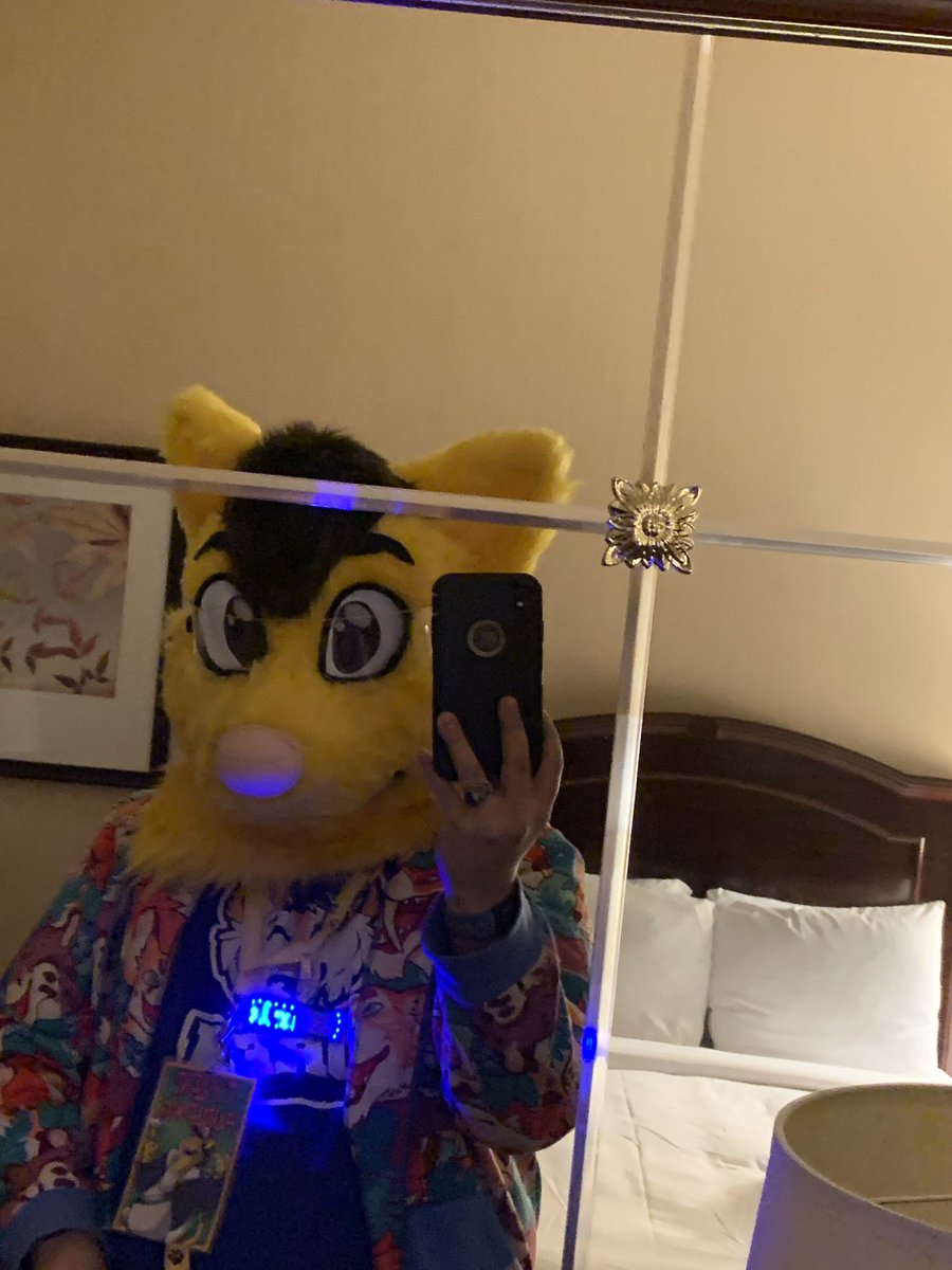 Happy Fursuit Friday everyone! Here's a little flashback to my first night of suiting at mff2019. #FursuitsFriday<br>http://pic.twitter.com/XKl0E3aWTu