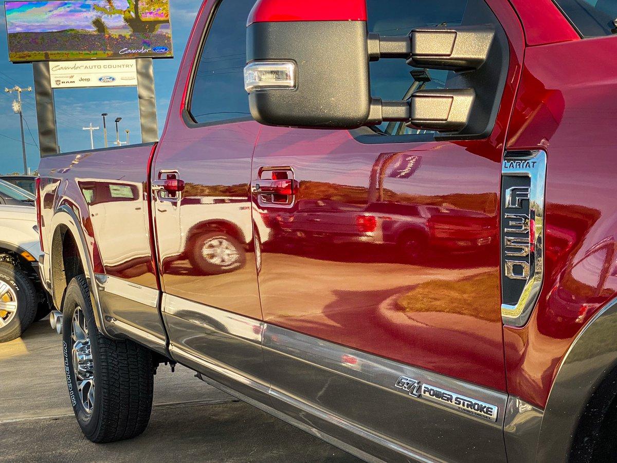 Big, Bold and Powerful. - #Ford #FordTrucks #BuiltFordTough #FordF350 #F350 #FordLariat #FordF350Lariat #PowerStroke #CavenderFord #MakeConfidenceHappenpic.twitter.com/9OE6yybg3W