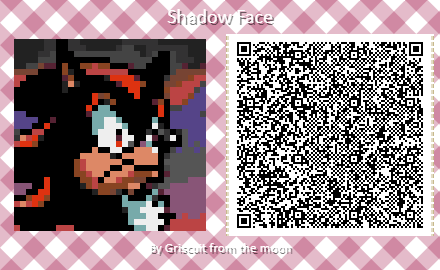 A Snail S Mail On Twitter Shadow S Memeface Now In Animal Crossing Form Original Art By Yardleyart Animalcrossing Newhorizons Acnh Acqrcodes Animalcrossingqrcodes Sonic Shadowthehedgehog Archiesonic Https T Co Du3yjmybqx