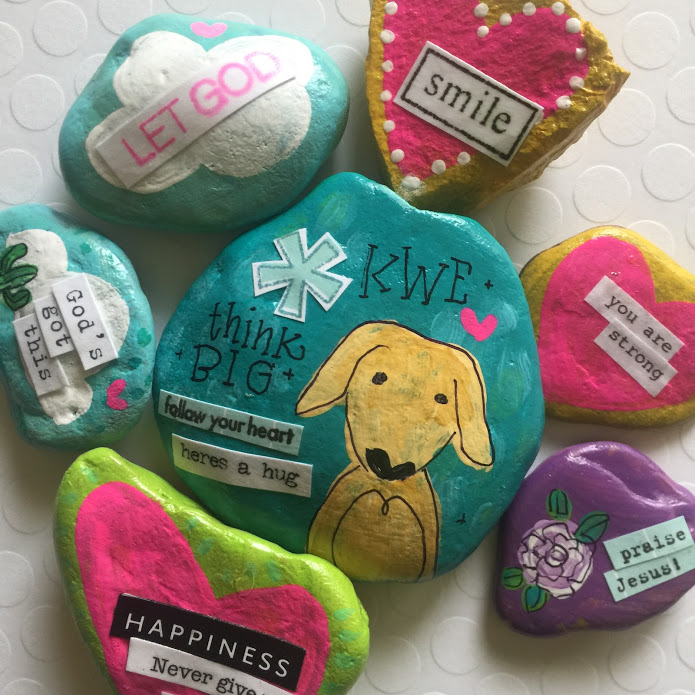 A little creativity to spread some kindness, thanks to @KWEcounselor's lesson on @LampasasKWE home learning.   #KWEkindnessproject #kindnessrocks #thinkbigLISD @theKindnessrockpic.twitter.com/7NWbDWJd7l