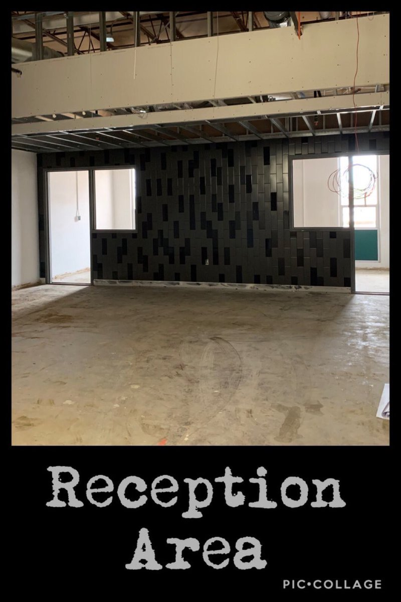 The front reception area will surely make a great first impression on all that visit The MILE! #MISDproudMidlo