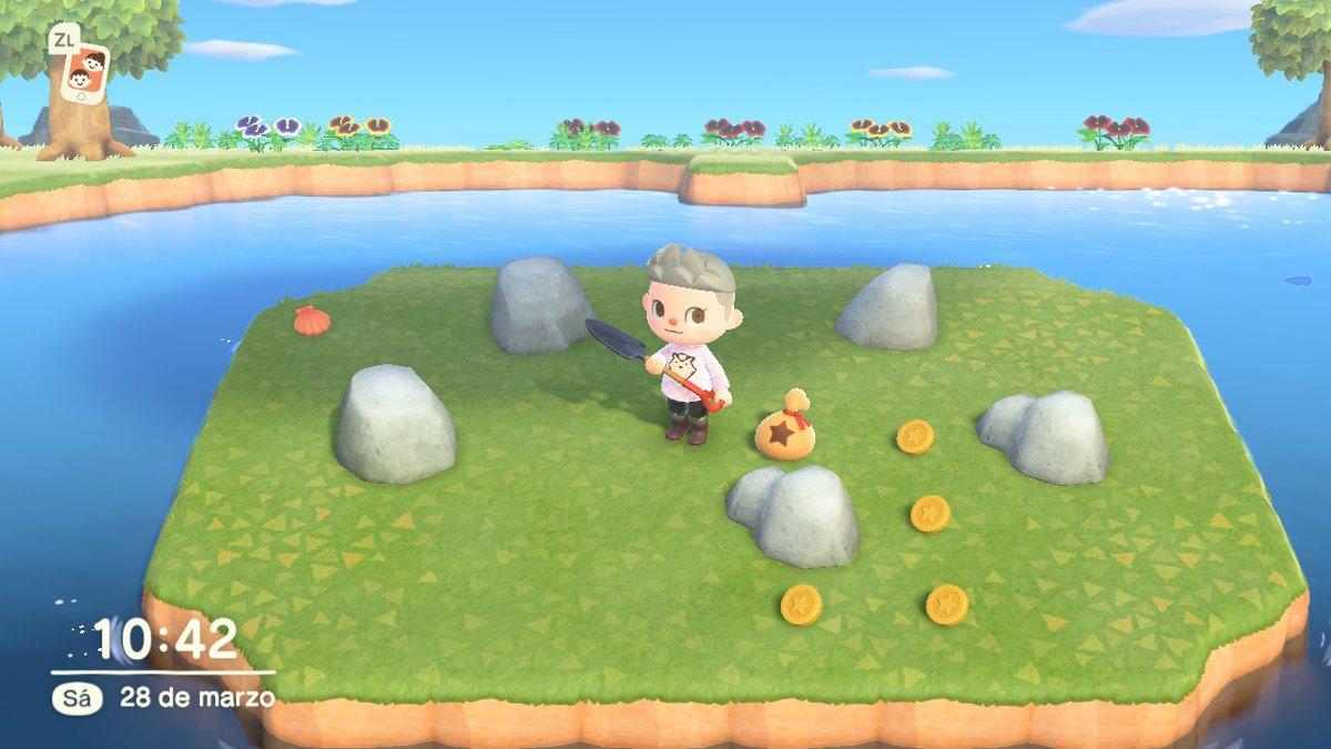 pue existe una isla de rocas de bayas jeje  #AnimalCrossing #ACNH #NintendoSwitchpic.twitter.com/brCkEnXNCF
