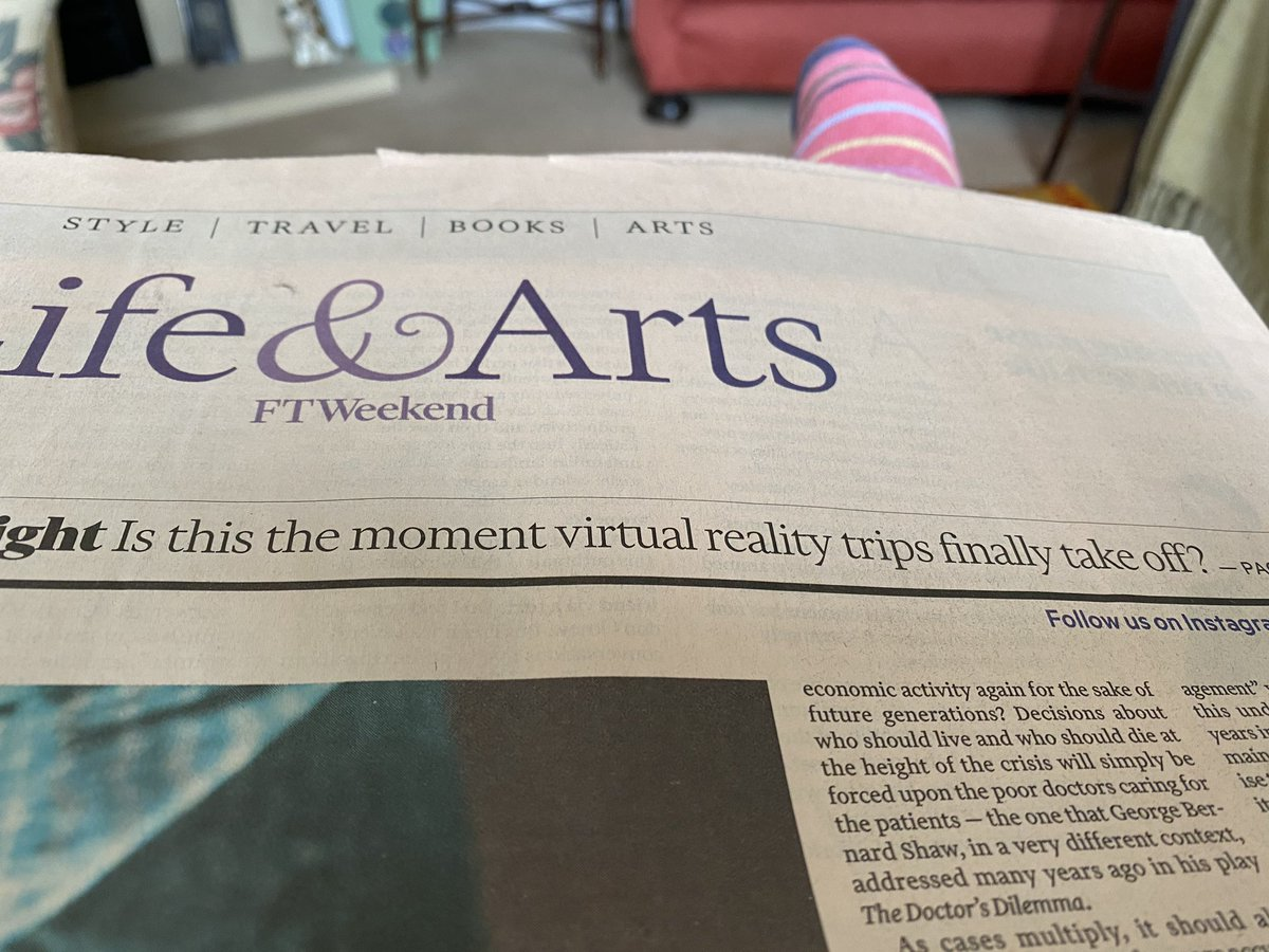 @Simon_Casson & @jeiwatts - do love Saturdays with the #weekend @FinancialTimes. It is #VirtualReality #travel today - #luxury #brandambassador #bankingconsultant & #travelblogger http://www.sifrew.com  #athome with #mum & #dad in #Shrewsbury #Shropshirepic.twitter.com/eDBoRu5kKH