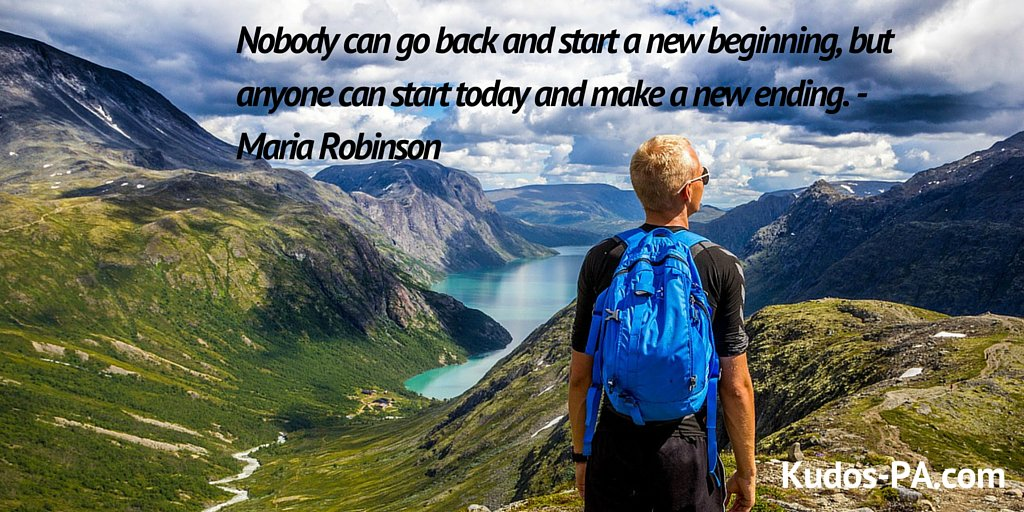 Nobody can go back and start a new beginning, but anyone can start... - Maria Robinson  #entrepreneur #businesspic.twitter.com/dsHlOSY0M1