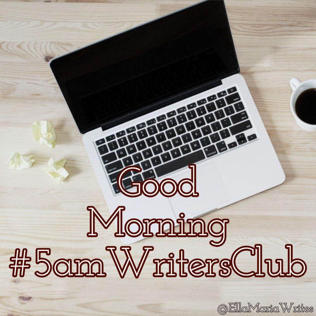 𝓖𝓸𝓸𝓭 𝓜𝓸𝓻𝓷𝓲𝓷𝓰, 𝓦𝓻𝓲𝓽𝓮𝓻𝓼!  #5amwritersclub #amwriting pic.twitter.com/GnM92GYkBZ