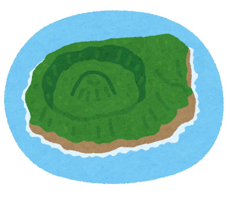 ヤベー!青ヶ島のことを調べてたら、いらすとやで既に描かれてたwwwカワイイ♪#青ヶ島 #いらすとや #伊豆諸島