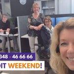 Image for the Tweet beginning: Bent u dit weekend alleen