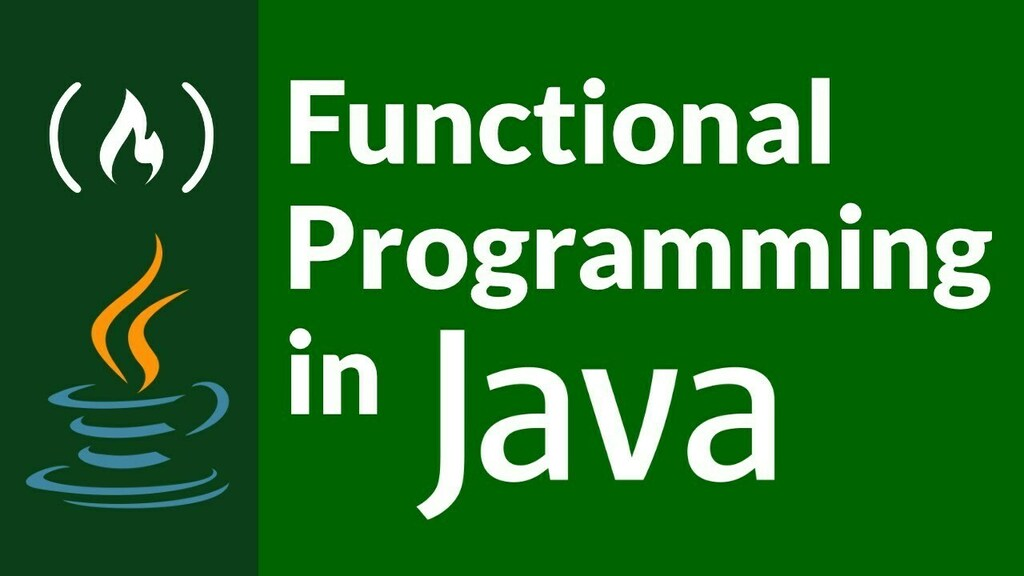 Functional Programming in Java - Full Course  ☞   #Java #Functional #Programming