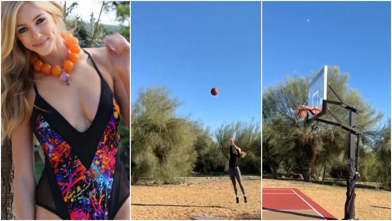【影片】NBA最美名門千金如芭比娃娃!顏值勝卡戴珊,神奇三分挑戰Curry?