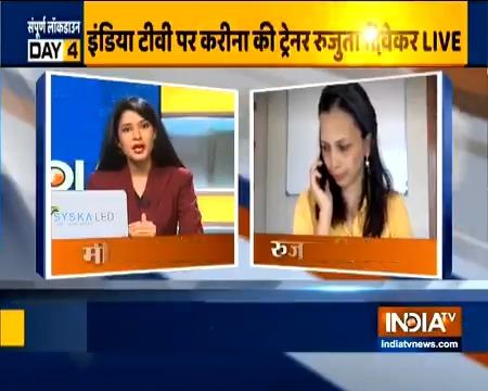Celebrity nutritionist @RujutaDiwekar who gives diet tips to #KareenaKapoorKhan, #AliaBhatt tells people how to remain fit and eat right during #lockdown | #Quarantinediet #lockdownWithIndiaTV