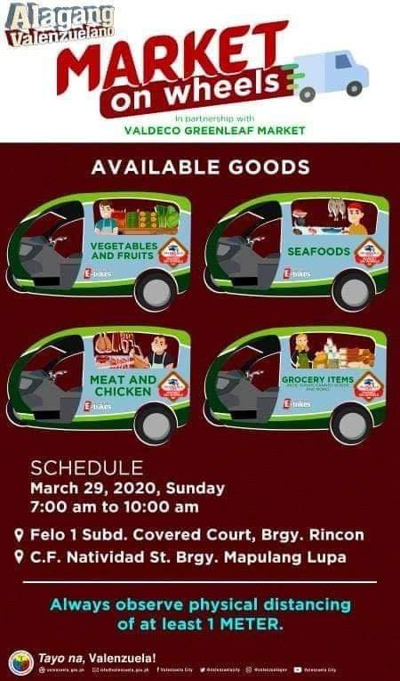 "LOOK: ""Market on Wheels"" na hango sa Mobile Palengke ng Pasig City, aarangkada na bukas sa Valenzuela City @dzbb"