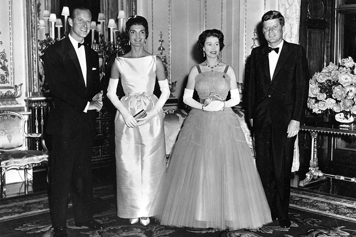 The Crown and The Kennedy's Buckingham Palace, 1961 pic.twitter.com/SfyQpakh9P