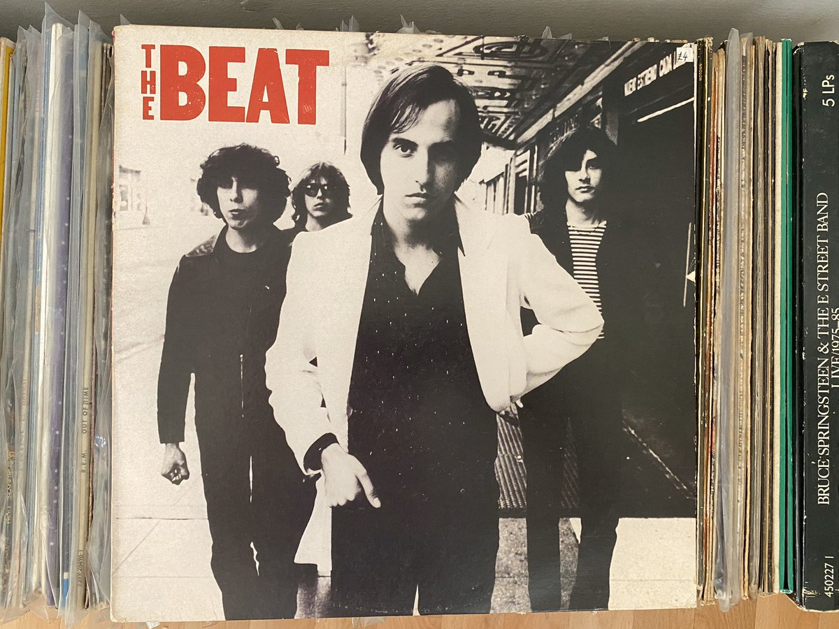 Day 8: I have no idea how this got into my record collection but it looks fucking excellent and I am going to listen to it. You should too. The Beat (aka Paul Collins' Beat) - The Beat (1979) #recordaday pic.twitter.com/LzN4cJzlMC