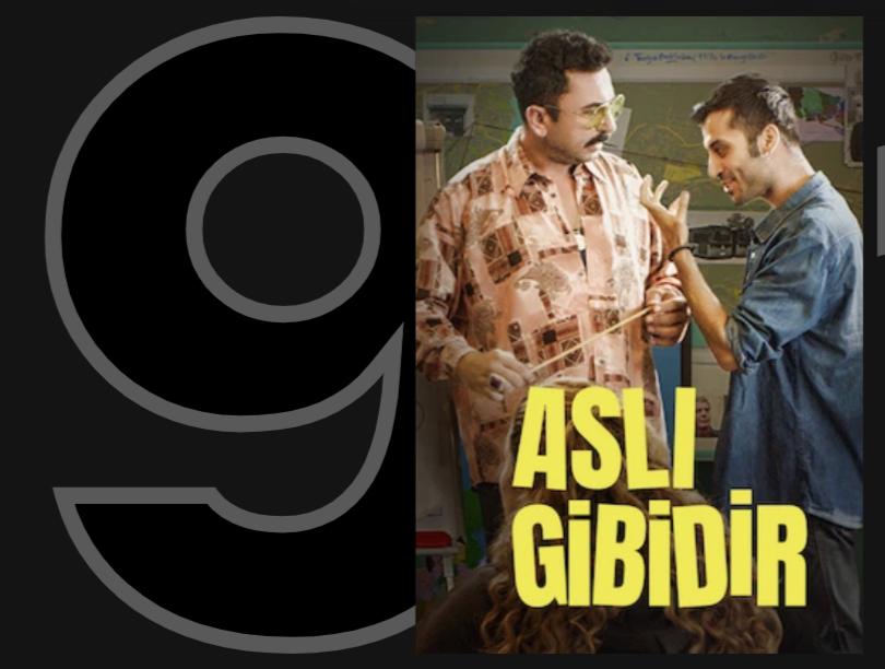 Netflix Türkiye'de en çok izlenenlere 9 numaradan girmiş. Hadi bakalım izleyelim biz de. :) @aslinandik https://t.co/akKbEWrggh