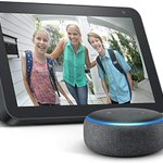 Image for the Tweet beginning: Echo Show 8 with free