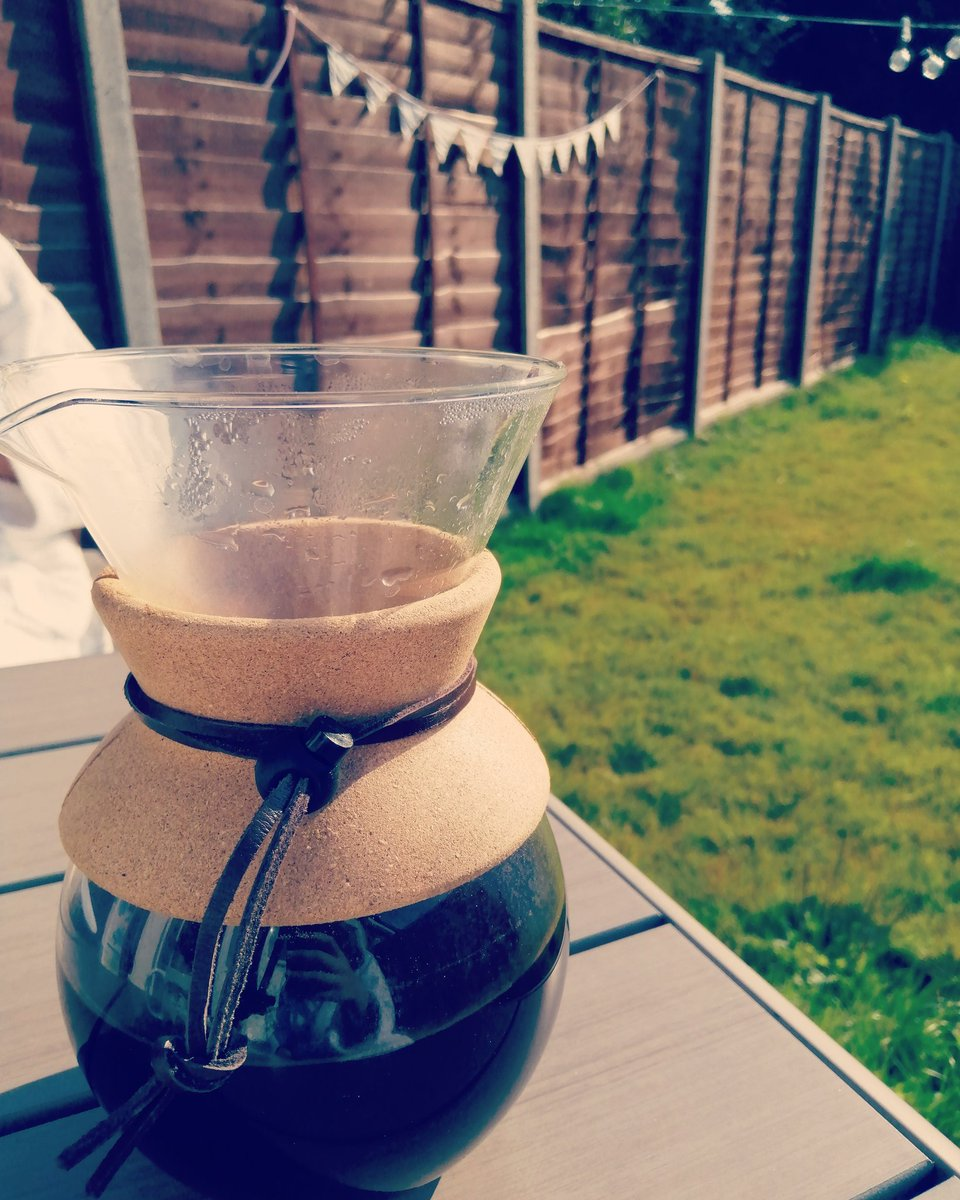 Coffee in the garden. #SaturdayMorning