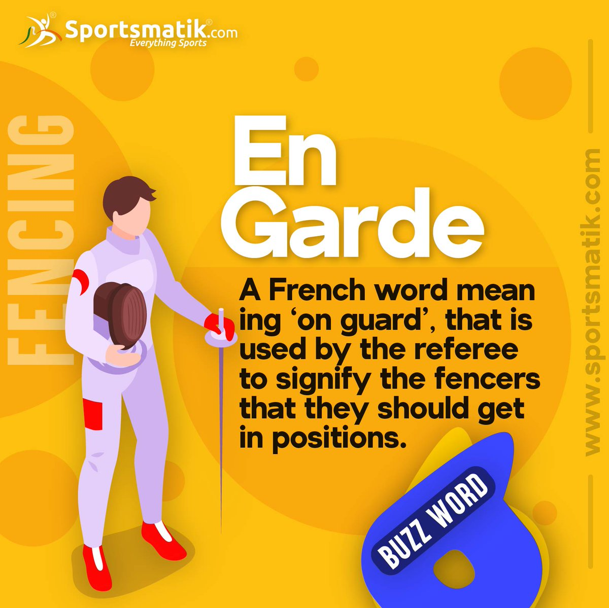 It's quite #amazing to know something new about the world of #sports everyday. Wanna know more? Visit here and explore- #Fencing #Fencer #Buzzword #Fencingclub #Fencingposts  https://sportsmatik.com/sports-corner/sports-know-how/fencing/…pic.twitter.com/T8Lls7xMEM