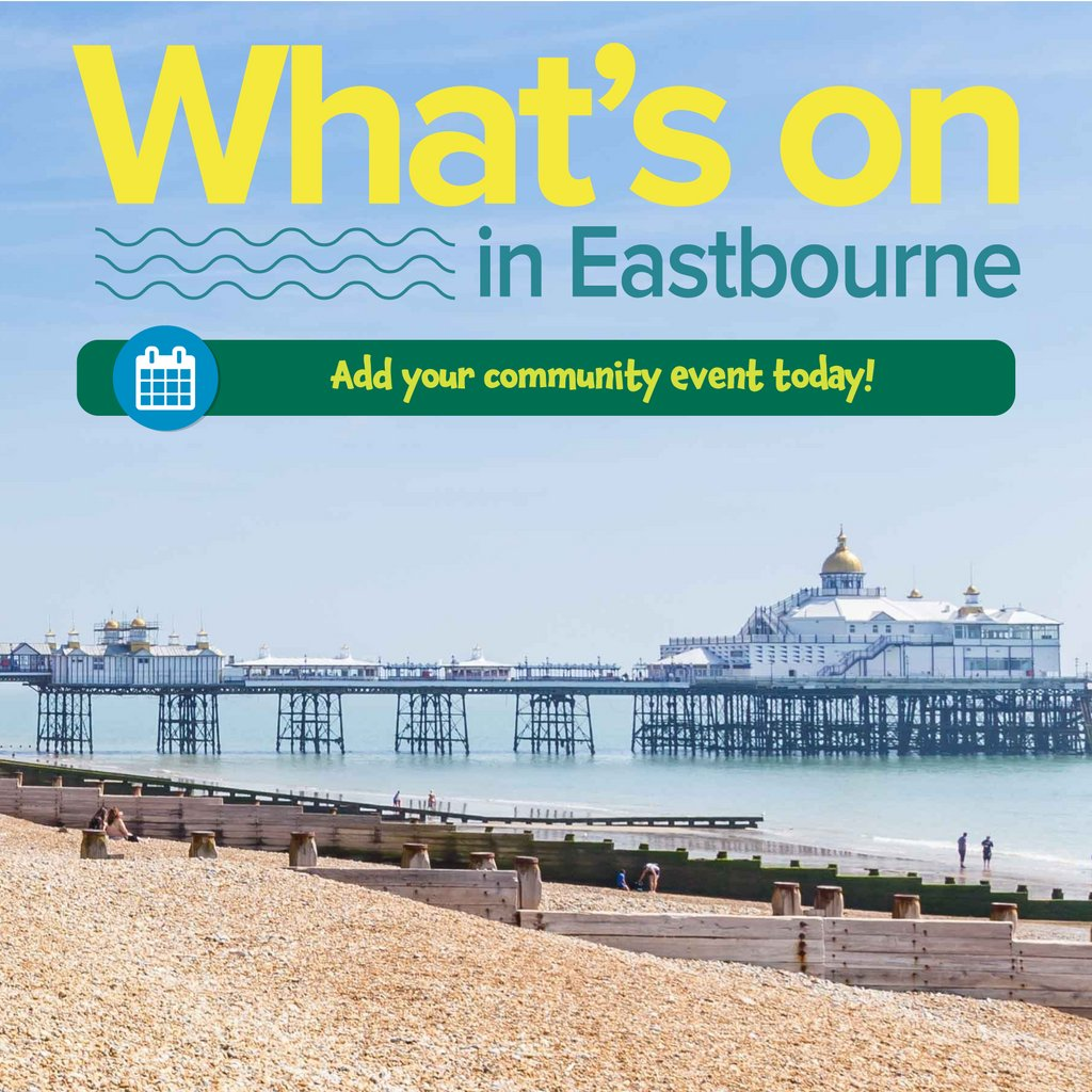 Have you turned to run virtual events? Please ensure you add these to our events page as people are keen to know what is going on in Eastbourne  https://j.mp/1QtniIT    #EBevents  #WhatsOn   #BestOfEastbourne