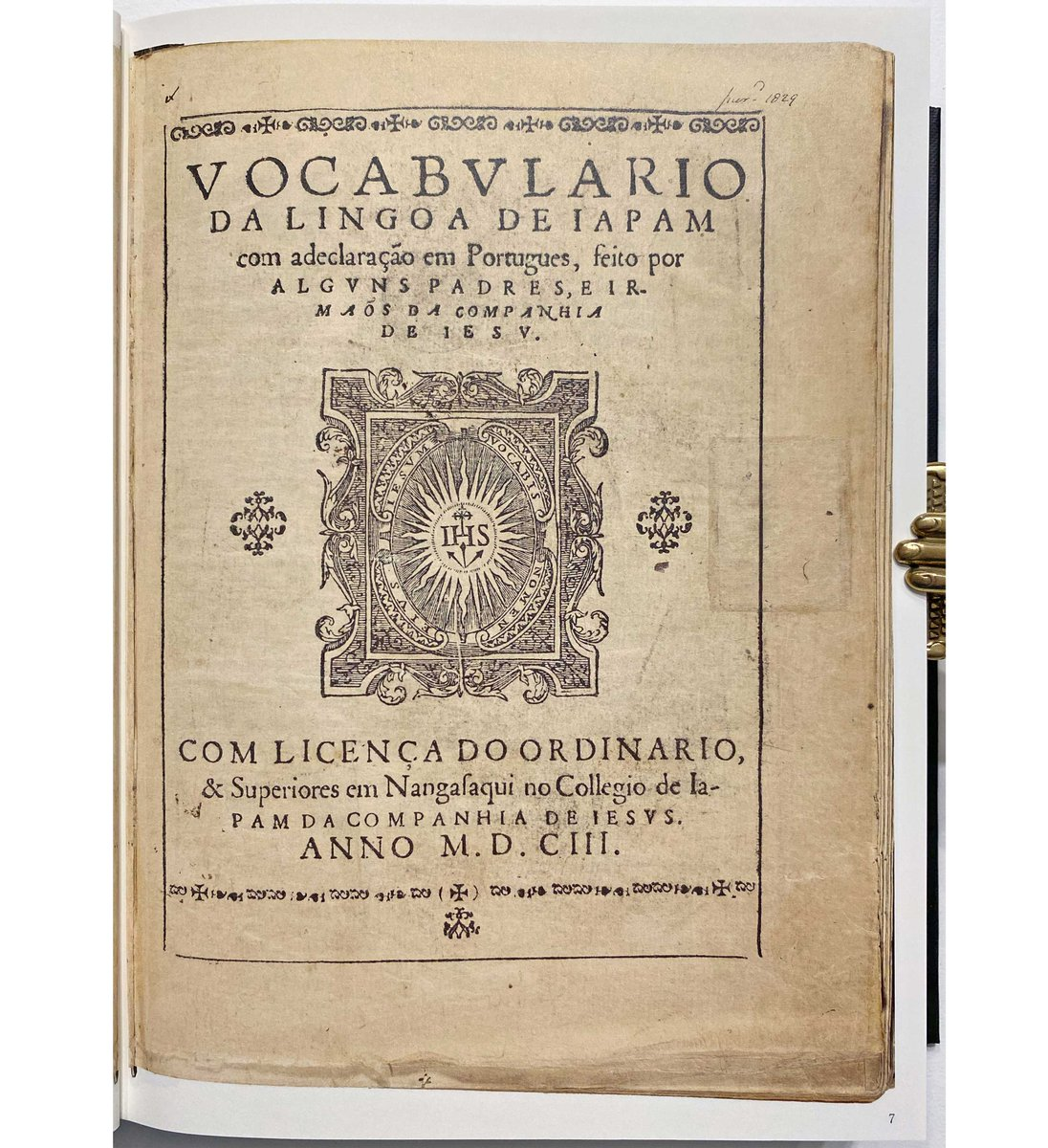 """Incunabula on Twitter: """"Containing entries for 32,293 Japanese words in  Portuguese, this was the first dictionary of Japanese translated into ANY  European language and is arguably the most significant of all  Kirishitan-ban."""