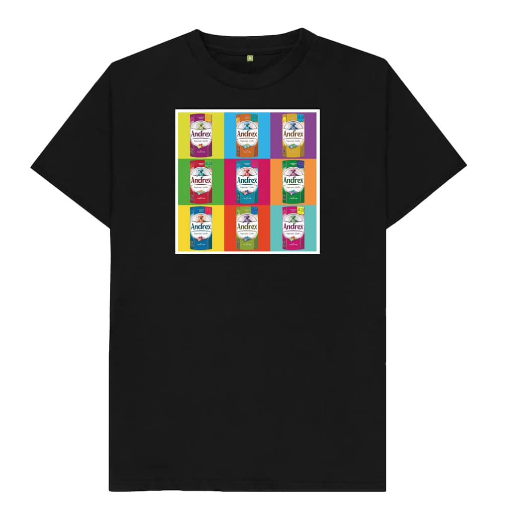 Due to many requests, I have put the AndrexWarhol20 design on a t-shirt. Find link in my bio. A little fun in these troubling times. #tshirtdesign #tshirts #tshirtprint #covid_19 #popart https://www.instagram.com/p/B-RyULahF7m/?igshid=1b7ldpx0z4z2v…pic.twitter.com/K9GTUxcajh