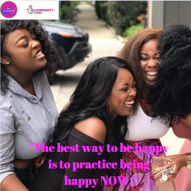 """The best way to be happy is to practice being happy NOW.""  Happy Saturday everyone!....What are you happy about today ? Share with us in the comments below. #positiveminds #positivity #affirmation #womenmeanbusiness #thegaianetwork #safe #stayathomepic.twitter.com/FF7jb47ugh"