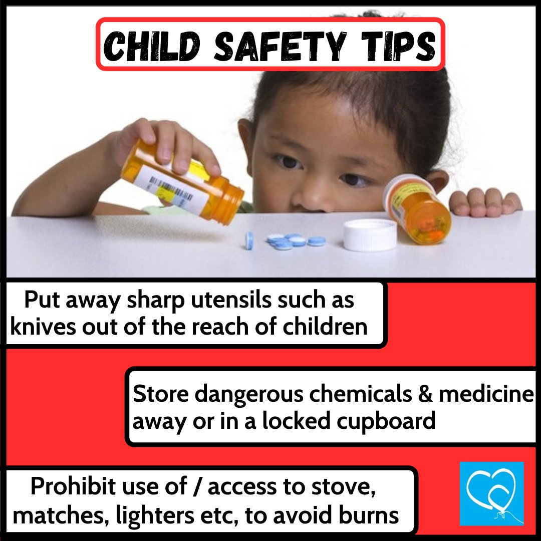 Parents and guardians, let's ensure our children's safety is priority at all times.   #ChildSafety #ChildProtection #SafetyTips #HomeSafety #TTChildren #ChildrensAuthoritypic.twitter.com/78QQJ5dFbM