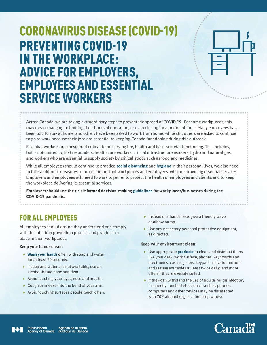 test Twitter Media - If you're working during the #COVID19 pandemic: ✔️Keep your hands clean ✔️Keep your environment clean ✔️Keep your distance Get tips: https://t.co/LVDcdv60QQ https://t.co/ZWwge4we88