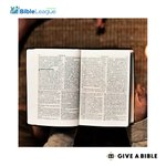Image for the Tweet beginning: Million are without Bibles.   Young