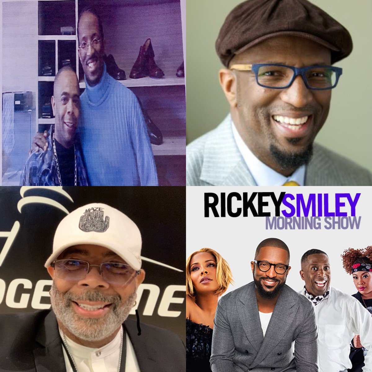 """""""Rickey Smiley"""" Comedian, Radio Personality, TV Host, Actor George Willis Jr., CEO. Willis Music Group & Net Work  You can have more because you can become more!  #RickeySmiley #Miguel #Atlanta #WillisMusicGroup #Skeet #Love #GeorgeWillisJr #Instagood #RickySmileyMorningShow"""