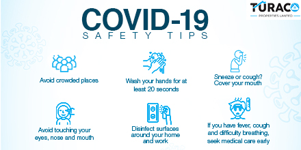 During this #CoronavirusPandemic, we'd like to ensure that you and your loved ones take the necessary precautions to safeguard yourselves.  Here are a few safety tips to keep in mind  #COVID19KE #coronaviruske #COVID19 #CoronaVirusUpdate #coronaviruskenya #CoronaUpdates #WHO<br>http://pic.twitter.com/gAKTlREy72