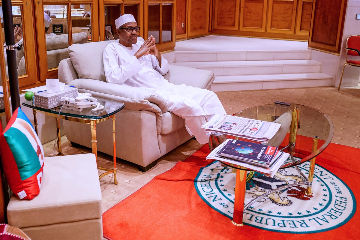 PHOTONEWS: @MBuhari Forced Out Of Hiding After #BuhariResign Hashtag Trends On Social Media  #COVID19 #Coronavirus <br>http://pic.twitter.com/9k0jIyDVyl