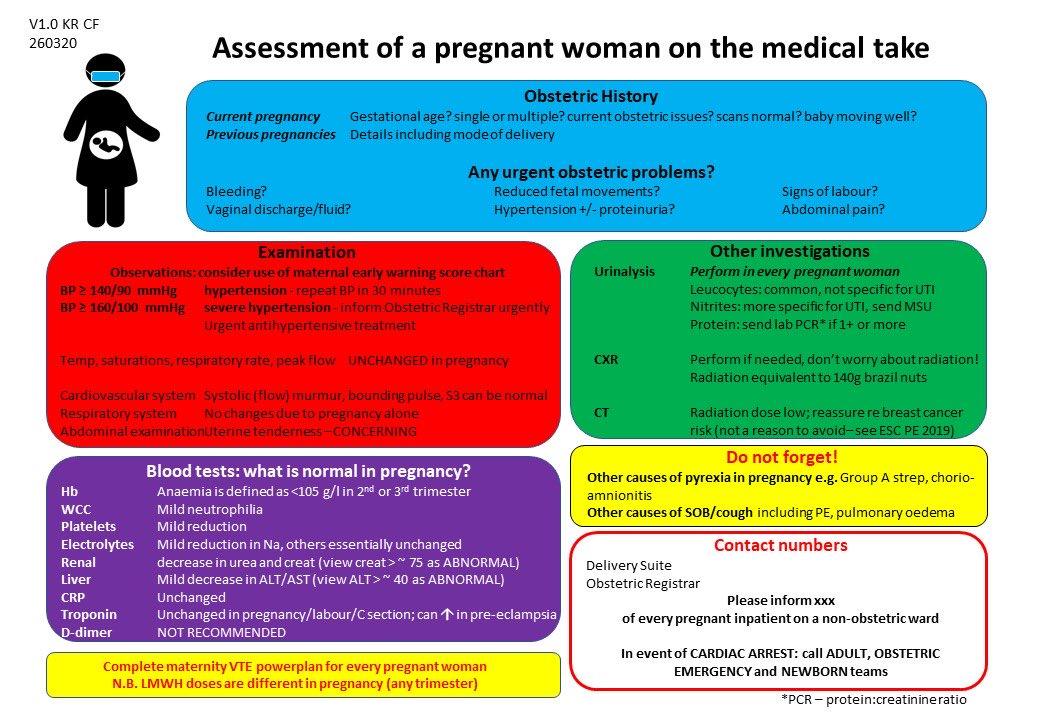 Assessment of pregnant women by Medics @RosieDoman @anwengorry @susannacrowe @BroFalvey @ShonaSolly @NUHmaternity @SogpUk @fhussain73 @CAlexanderNHS @anupama_shahid @AnushkaTirlapur @thangaratinam @BICSoc @Gsep_ @dremmayoung @sheetalparmar83 @camdendame @ https://t.co/VJspnJfRwh