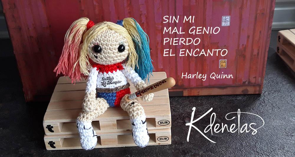 Ravelry: Harley Quinn Amigurumi pattern by Isabela Bessa | 534x1000