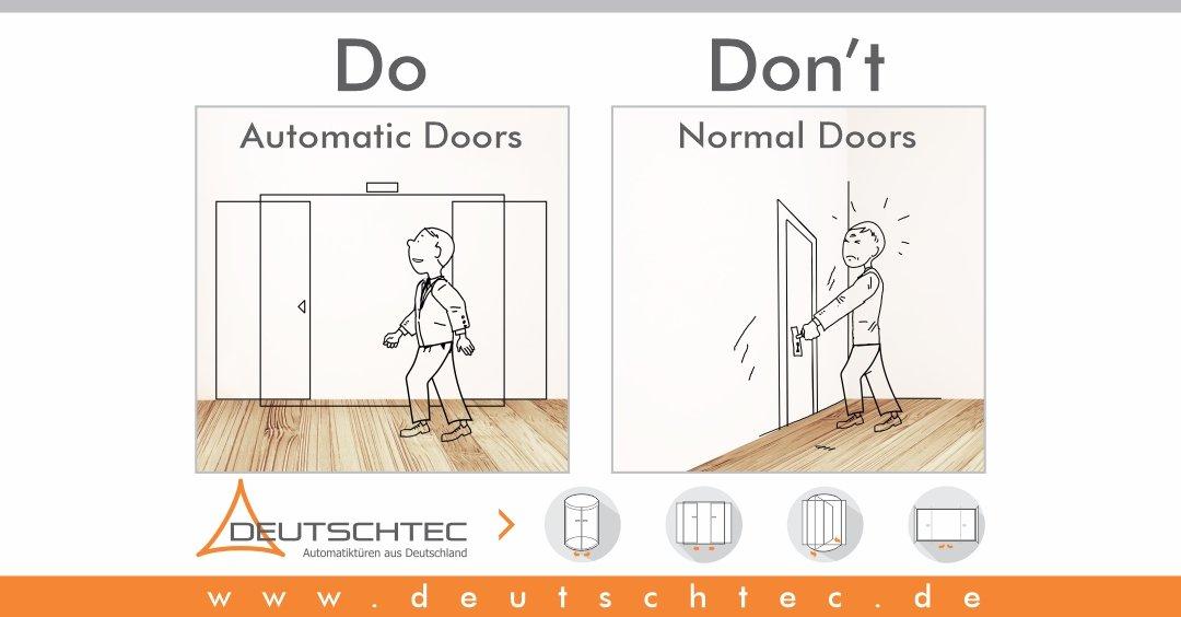 Take Care  #automaticdoor #Deutschtec #holuxiberia #hotels #restaurants #tradecenter #shoppingcenterpic.twitter.com/DaUkAaS9h0