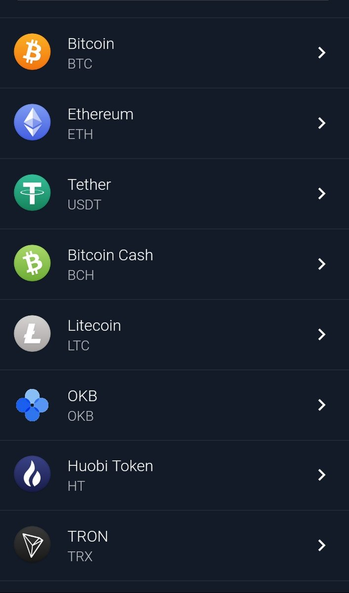 Which assests will you be able to store on #Vision on release?  Here's a list and so many more will be added as we grow.  #WeAllShareTheSameVision #Crypto #BTC #TRX #MCO #CRO #BAT #ETH #LTCpic.twitter.com/wukj775An3