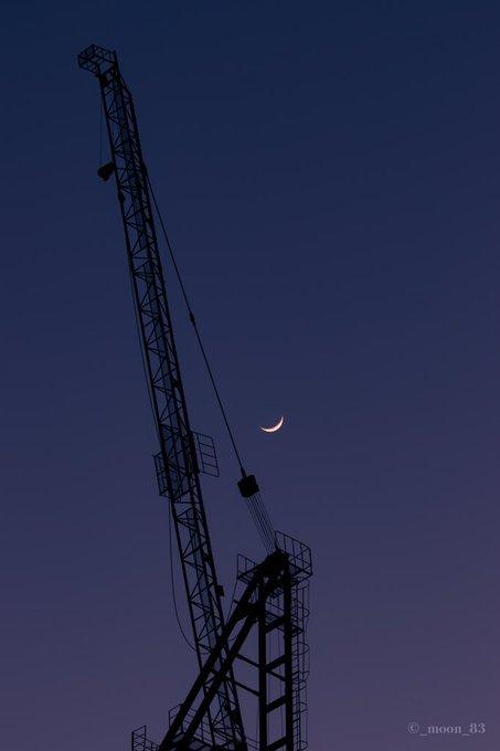 의 미디어: RT @_moon_83: 200328 오늘 초승달 달사진,풍경 🌙 https://t.co/aaWYdYQcX7
