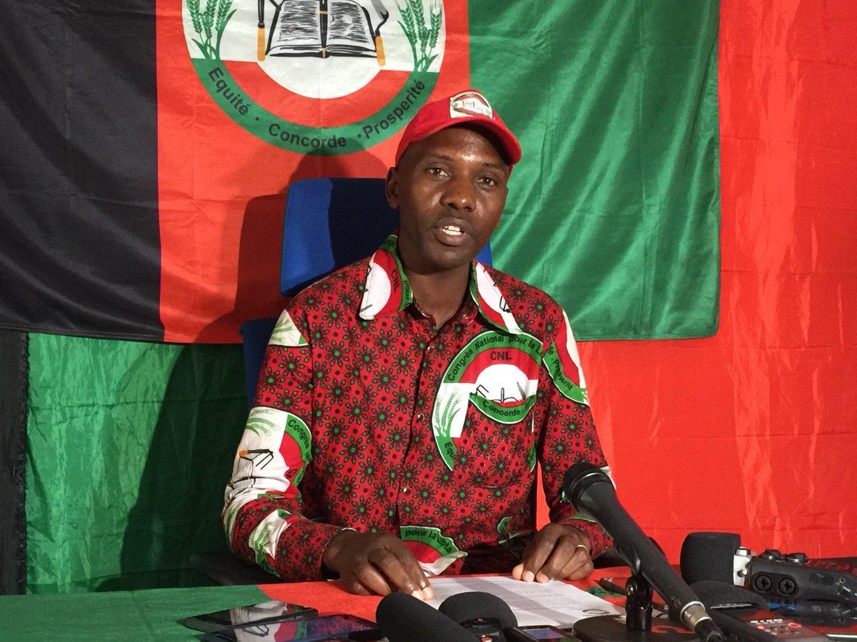 """Urumuri News on Twitter: """"Le porte-parole de @BurundiCnl déplore  comportement indigne de certains membres de certains #CEPI qui divulguent  les secrets professionnels. Et """"les listes déposées par #Cnl sont  divulgués; ceux qui"""