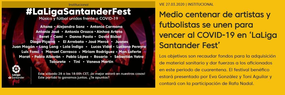 ¡Sencillamente espectacular! @LaLiga bit.ly/2xAw08f #LaLigaSantanderFest