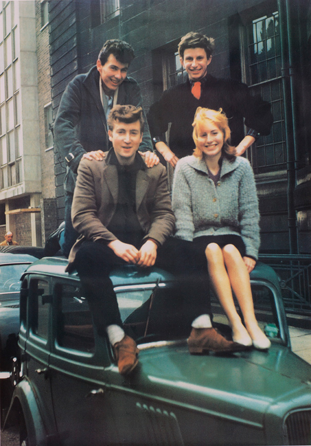 #JohnLennon and Cynthia, 1959