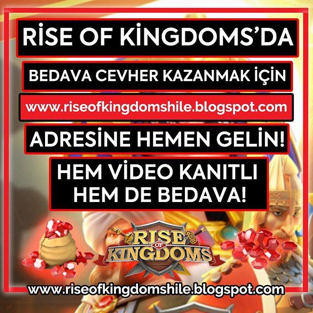 Cevher kazananların hiç kimseye söylemediği Rise of Kingdoms hilesi artık sizlerle. Hemen resimdeki siteden siz de Cevher alabilirsiniz! pic.twitter.com/F4PgeDlAW7