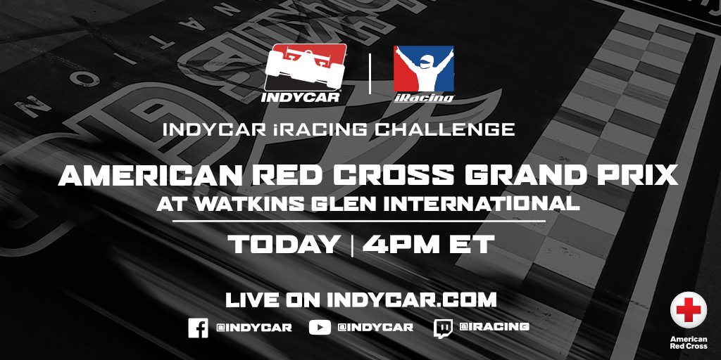 Today! Dont miss race 1 of the INDYCAR iRACING CHALLENGE at 4pm ET. Both DCR drivers @AlexPalou  and @SantinoFerrucci  will be taking part. #IndyCar  @iRacing  @WGI