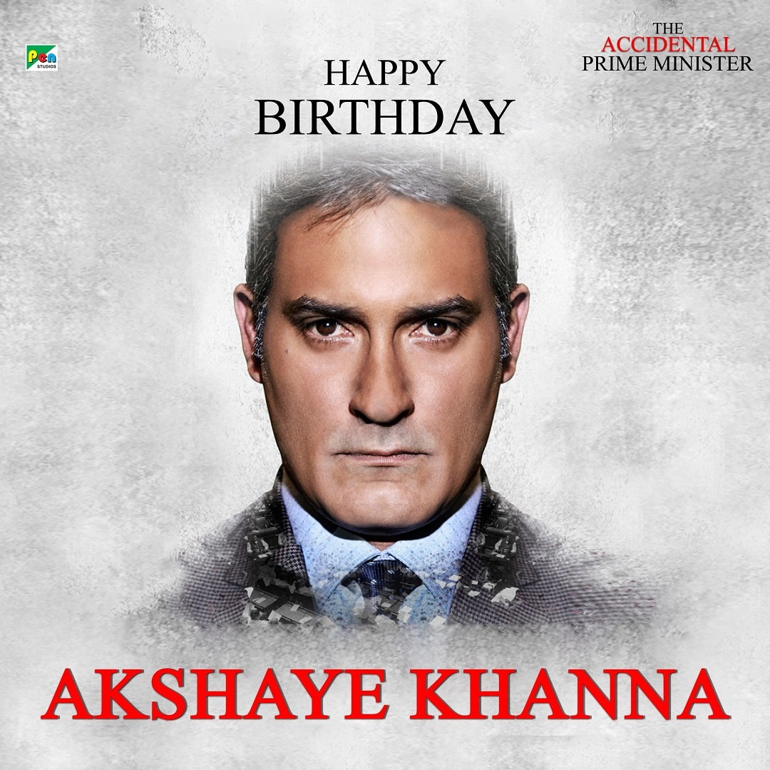 He is sauve, he is talented, he is intelligent. Put your hands together for #AkshayeKhanna. Pen Studios wishes him a very happy birthday.