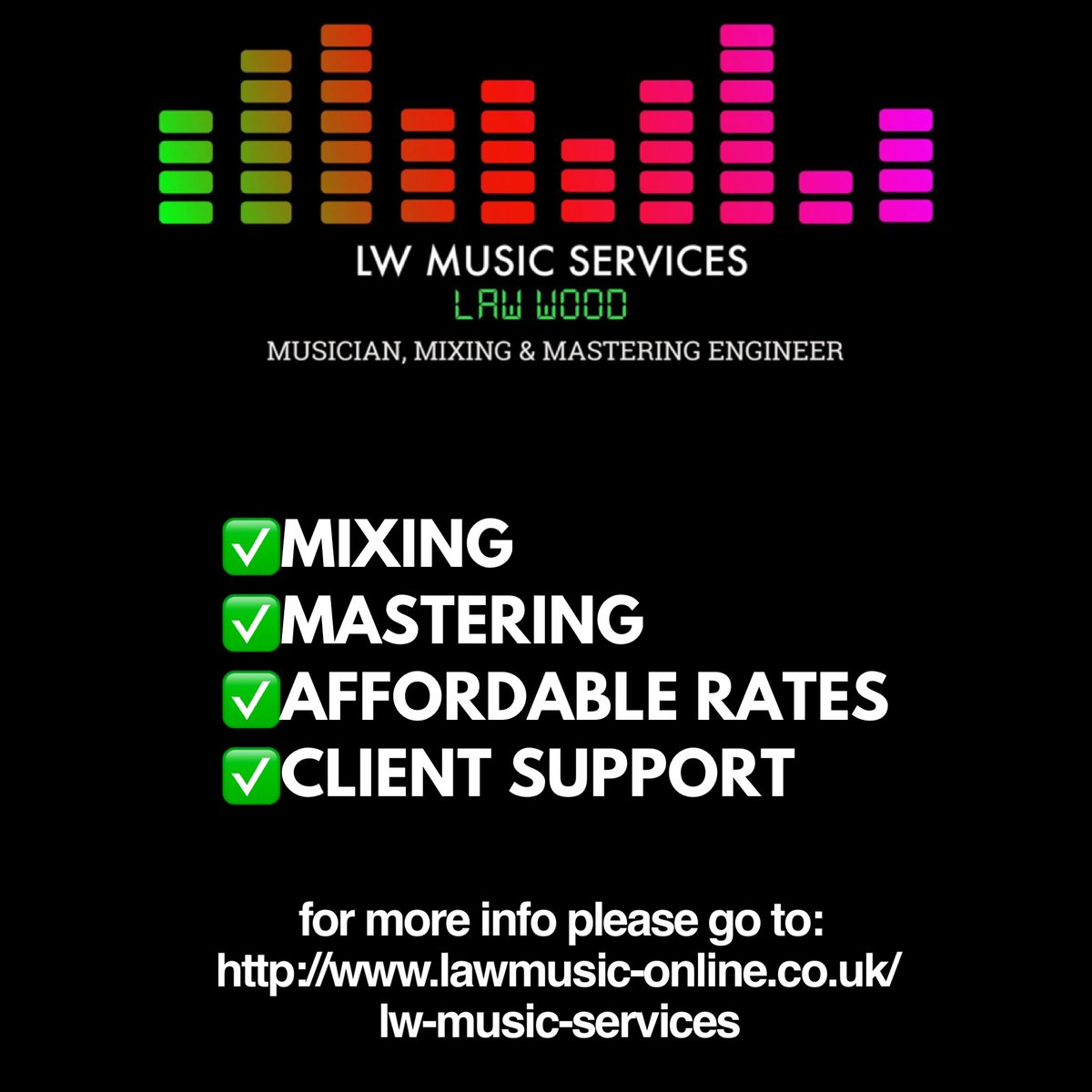 Mixing & Mastering can be affordable http://www.lawmusic-online.co.uk/lw-music-services… #mixing #mastering #musicpic.twitter.com/7Pj73cM5N2