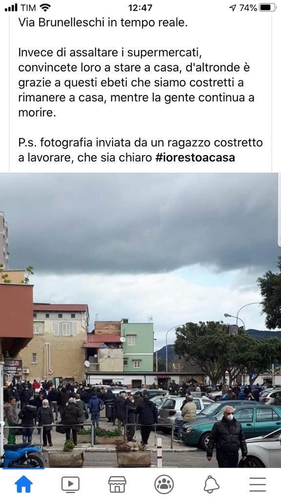 #assembramento